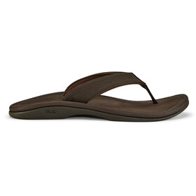OluKai Ohana Sandals Women dark java/dark java